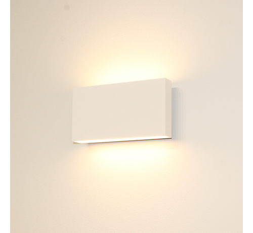 Artdelight Wandlamp Box - Wit