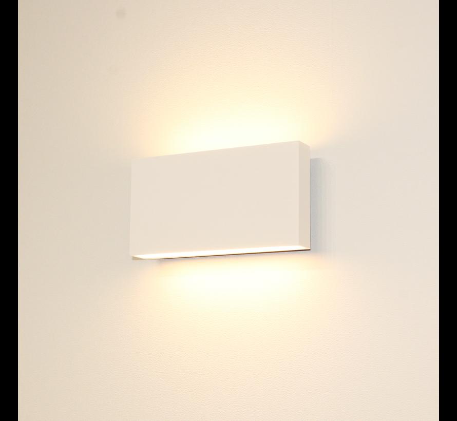 Wandlamp Box - Wit