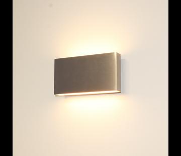 Artdelight Wandlamp Box - Aluminium