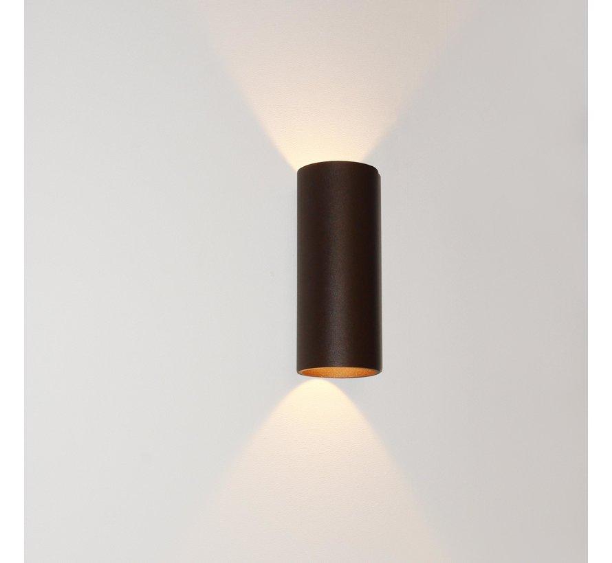 Wandlamp Brody 2 - Bruin