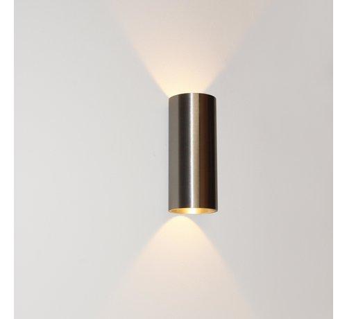 Artdelight Wandlamp Brody 2 - Aluminium