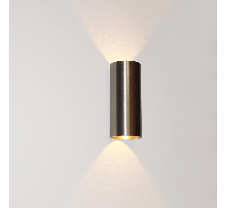 Wandlamp Brody 2 - Aluminium