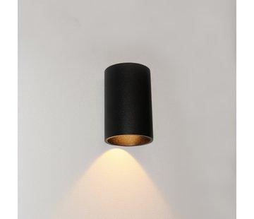 Artdelight Wandlamp Brody 1 - Zwart