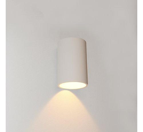 Artdelight Wandlamp Brody 1 - Wit