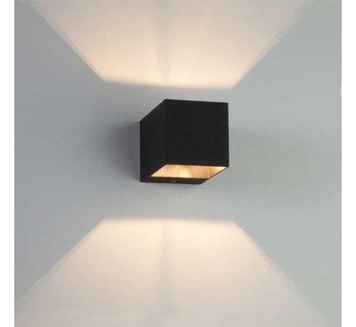 Artdelight Wandlamp Recta - Zwart