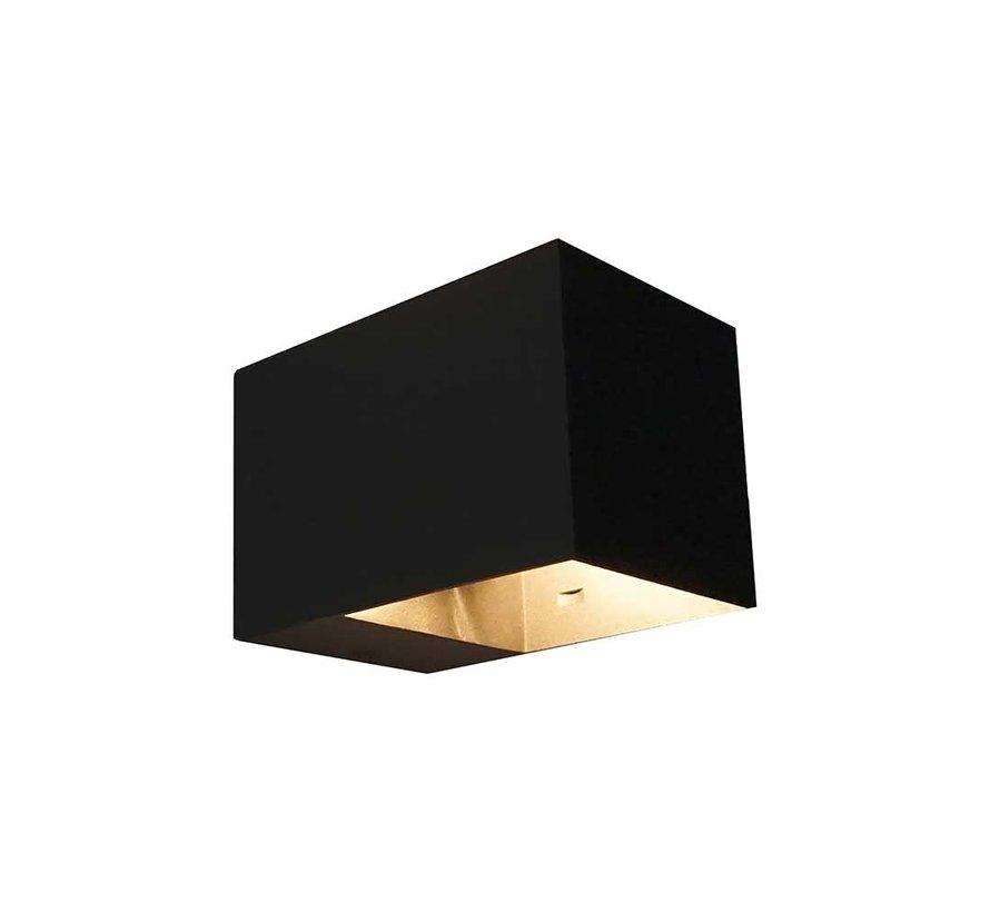 Wandlamp Recta - Zwart