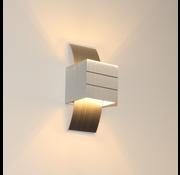 Artdelight Wandlamp Gyhum - Aluminium