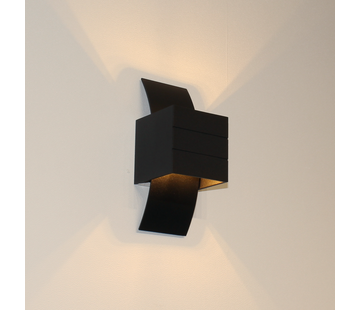 Artdelight Wandlamp Gyhum - Zwart