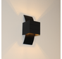Wandlamp Gyhum - Zwart