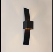 Artdelight Wandlamp Gyhum II - Zwart