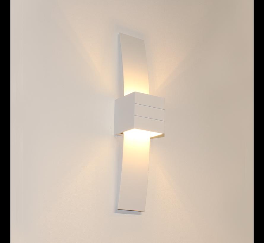 Wandlamp Gyhum II - Wit
