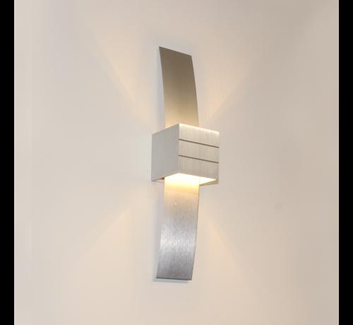 Artdelight Wandlamp Gyhum II - Aluminium