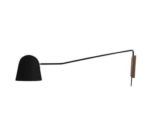 Artdelight Wandlamp Sensa - Zwart