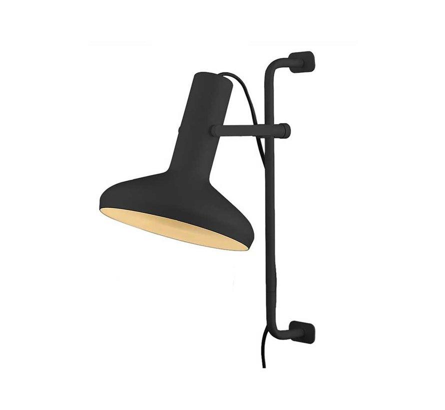Wandlamp Vectro - Zwart