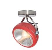 Het Lichtlab Plafondlamp No.7 - Rood