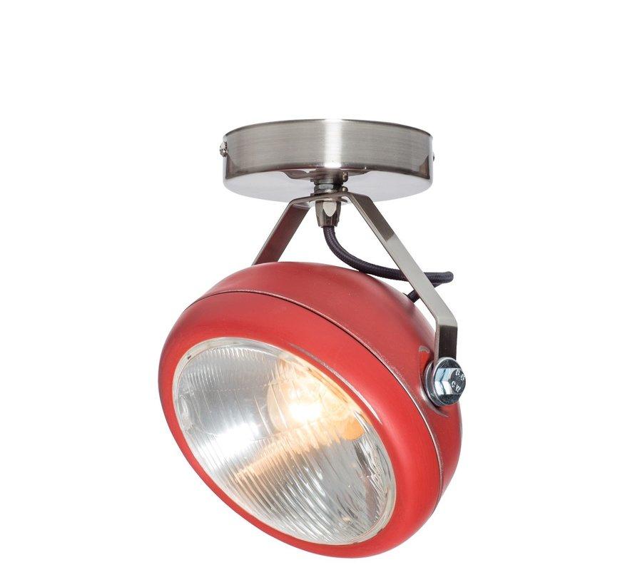 Plafondlamp No.7 - Rood