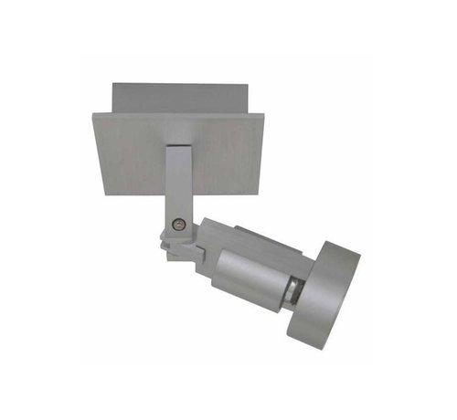 Artdelight Plafondlamp Tech 1L - Aluminium