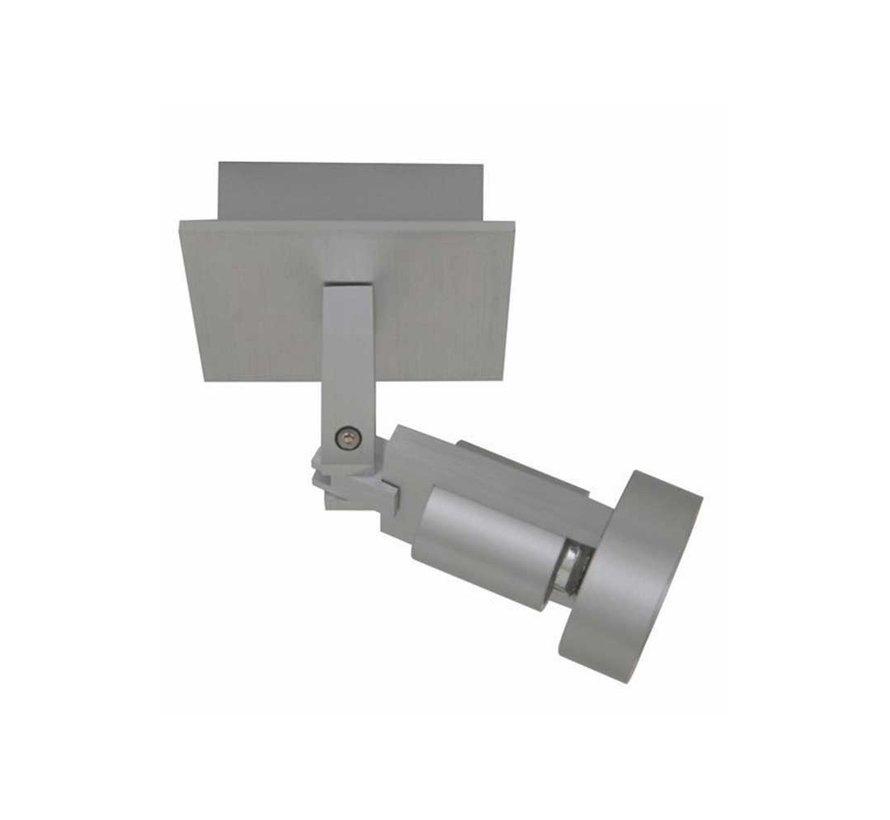 Plafondlamp Tech 1L - Aluminium
