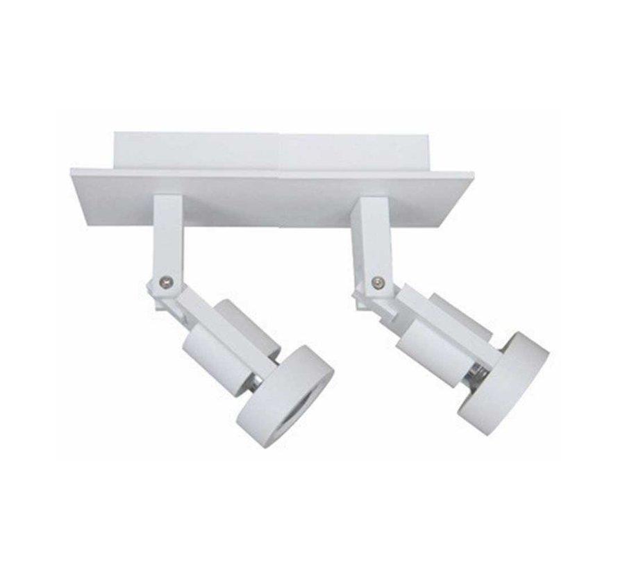 Plafondlamp Tech 2L - Wit