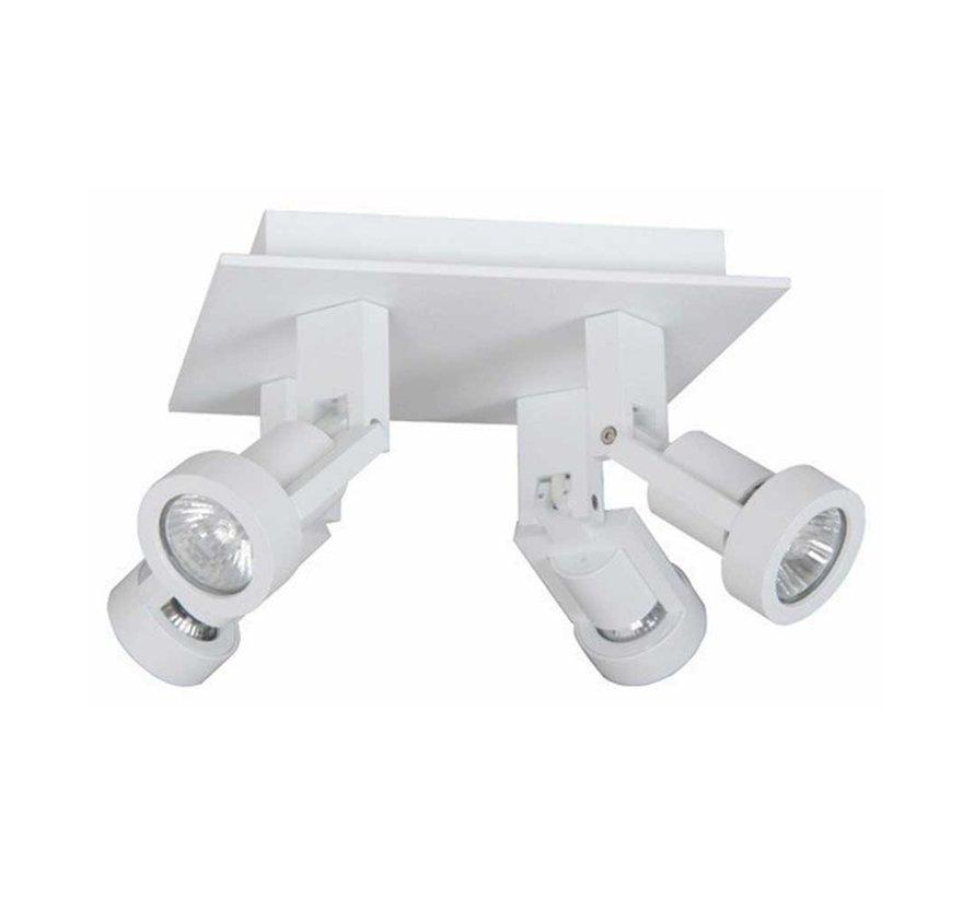 Plafondlamp Tech 4L - Wit
