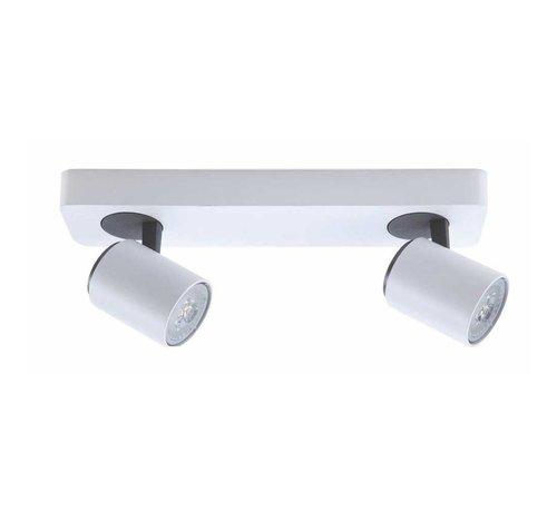 Artdelight Plafondlamp Vivaro 2L - Wit
