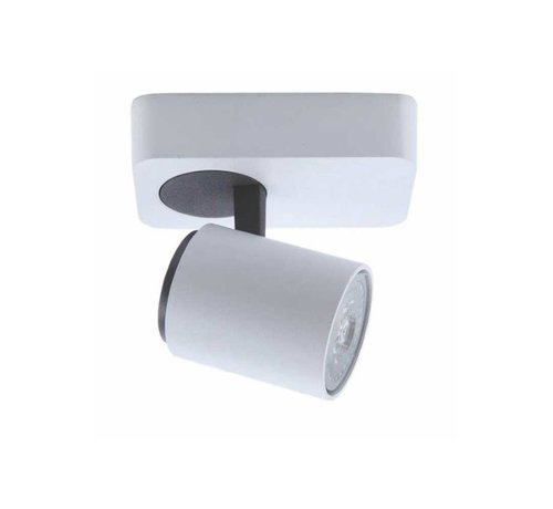 Artdelight Plafondlamp Vivaro 1L - Wit