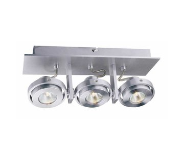 Artdelight Plafondlamp Meist 3L - Aluminium