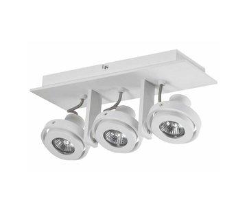 Artdelight Plafondlamp Meist 3L - Wit