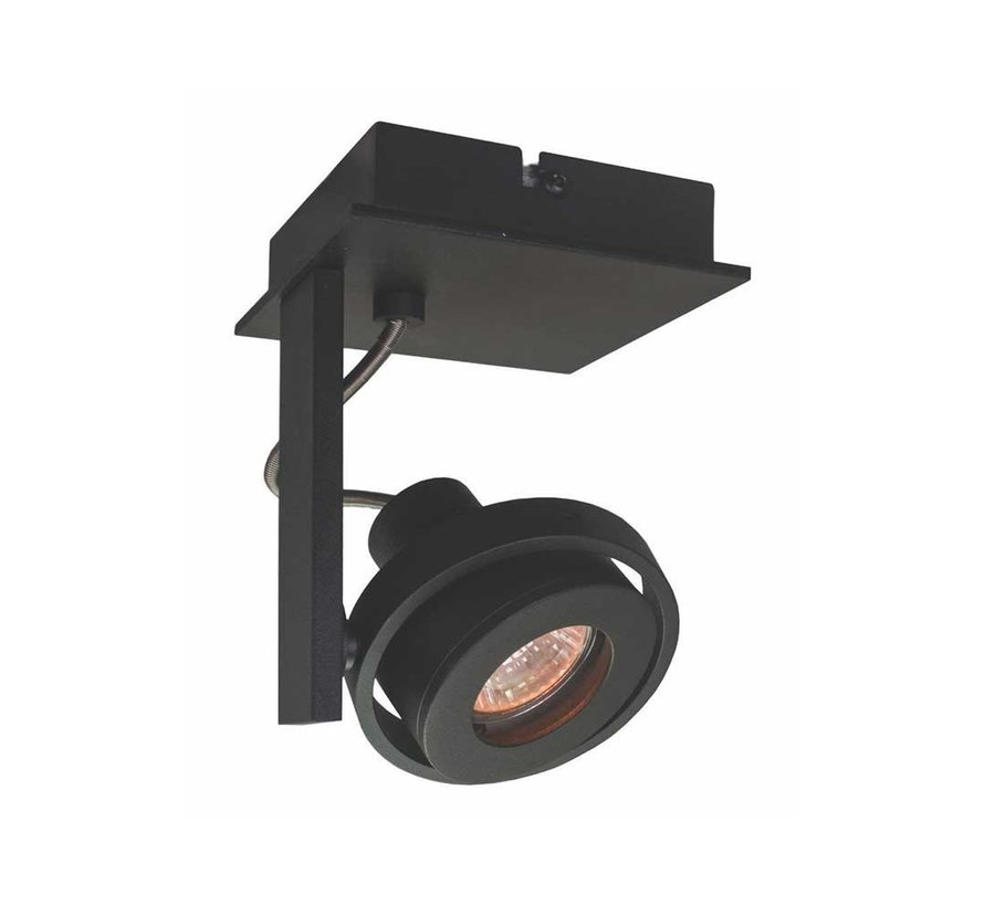 Plafondlamp Meist 1L - Zwart