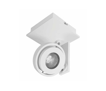 Artdelight Plafondlamp Meist 1L - Wit