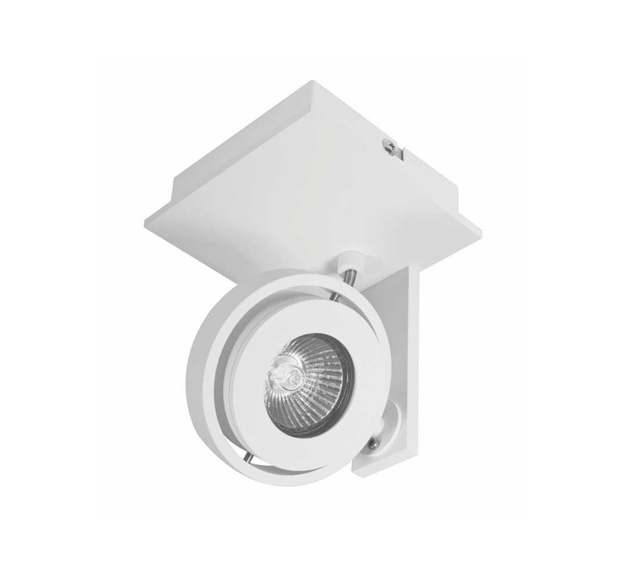 Plafondlamp Meist 1L - Wit