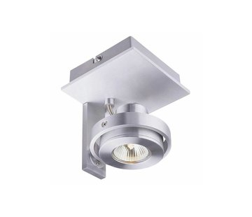 Artdelight Plafondlamp Meist 1L - Aluminium