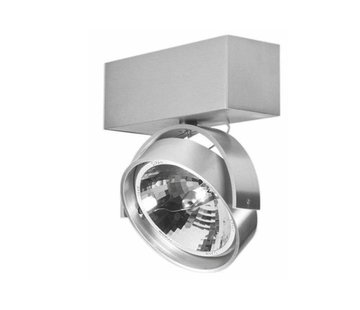 Artdelight Plafondlamp Dutchess 1L - Aluminium - Dim to Warm