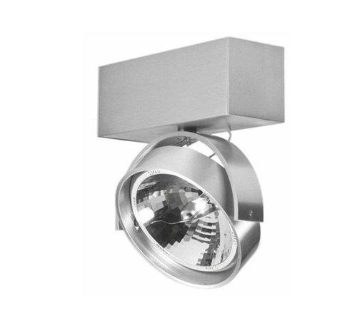 Artdelight Plafondlamp Dutchess 1L - Aluminium - Dim to Warm