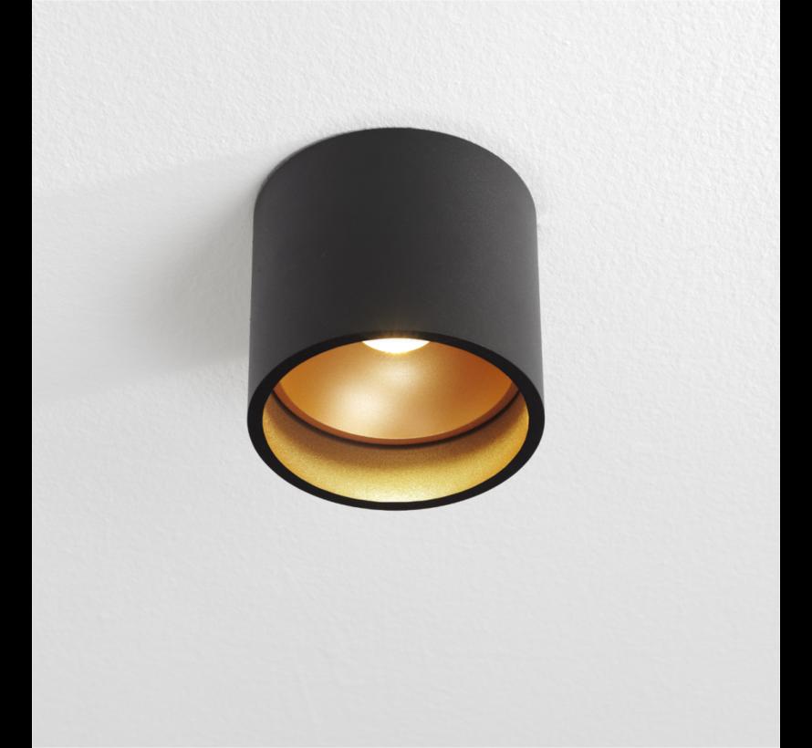 Plafondlamp Orleans - Zwart/Goud