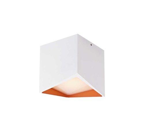 Artdelight Plafondlamp Kiel - Wit/Rosé