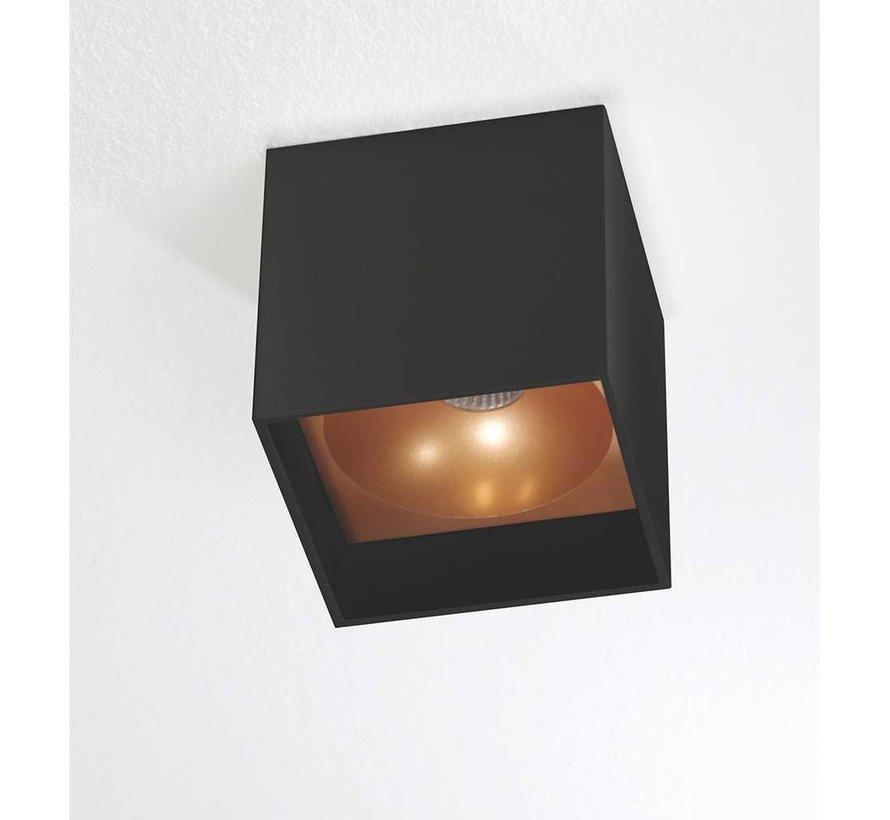 Plafondlamp Brock - Zwart/Goud