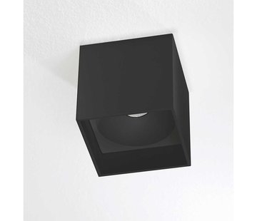 Artdelight Plafondlamp Brock - Zwart