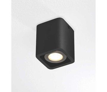 Artdelight Plafondlamp Bronx 1L - Zwart
