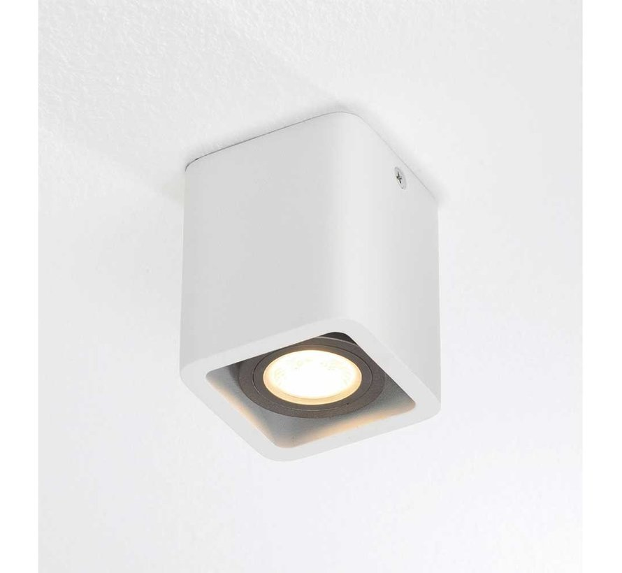 Plafondlamp Bronx 1L - Wit