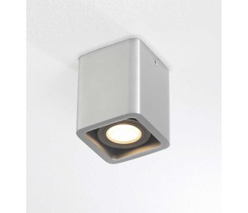 Artdelight Plafondlamp Bronx 1L - Aluminium