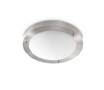 Artdelight Plafondlamp Yuca I Led - Mat Staal