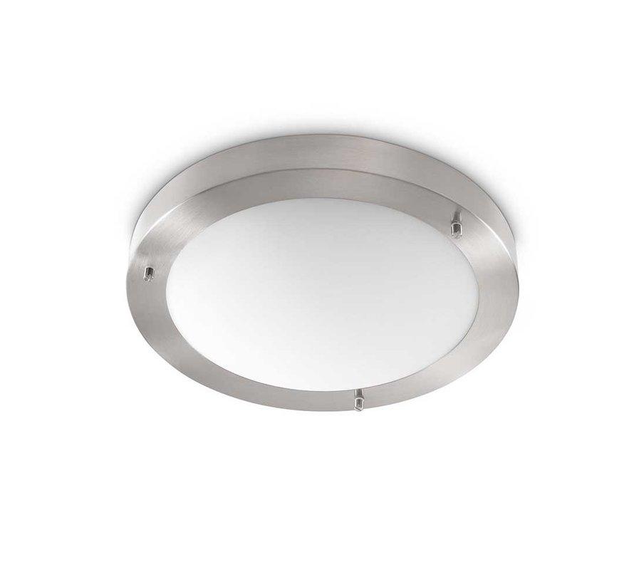 Plafondlamp Yuca I Led - Mat Staal