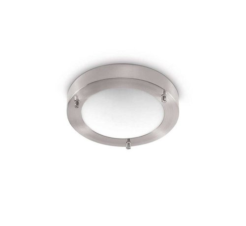 Artdelight Plafondlamp Yuca III Led - Mat Staal