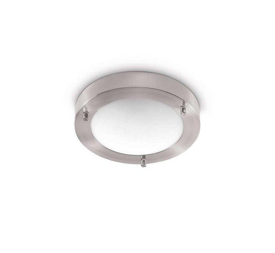 Plafondlamp Yuca III Led - Mat Staal