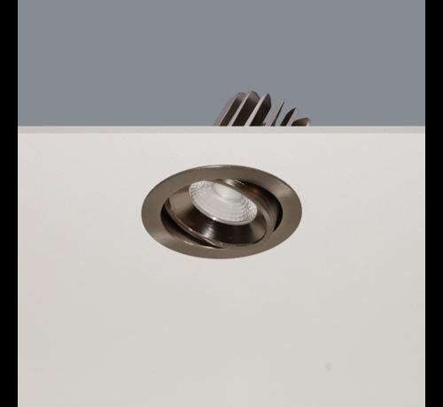 Artdelight Inbouwspot Venice DL 1210 - Mat Staal