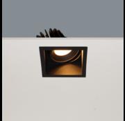 Artdelight Inbouwspot Vibs - Zwart