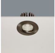 Artdelight Inbouwspot Venice DL 2108 - Mat Staal
