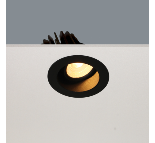 Artdelight Inbouwspot Venice DL 2408 - Zwart