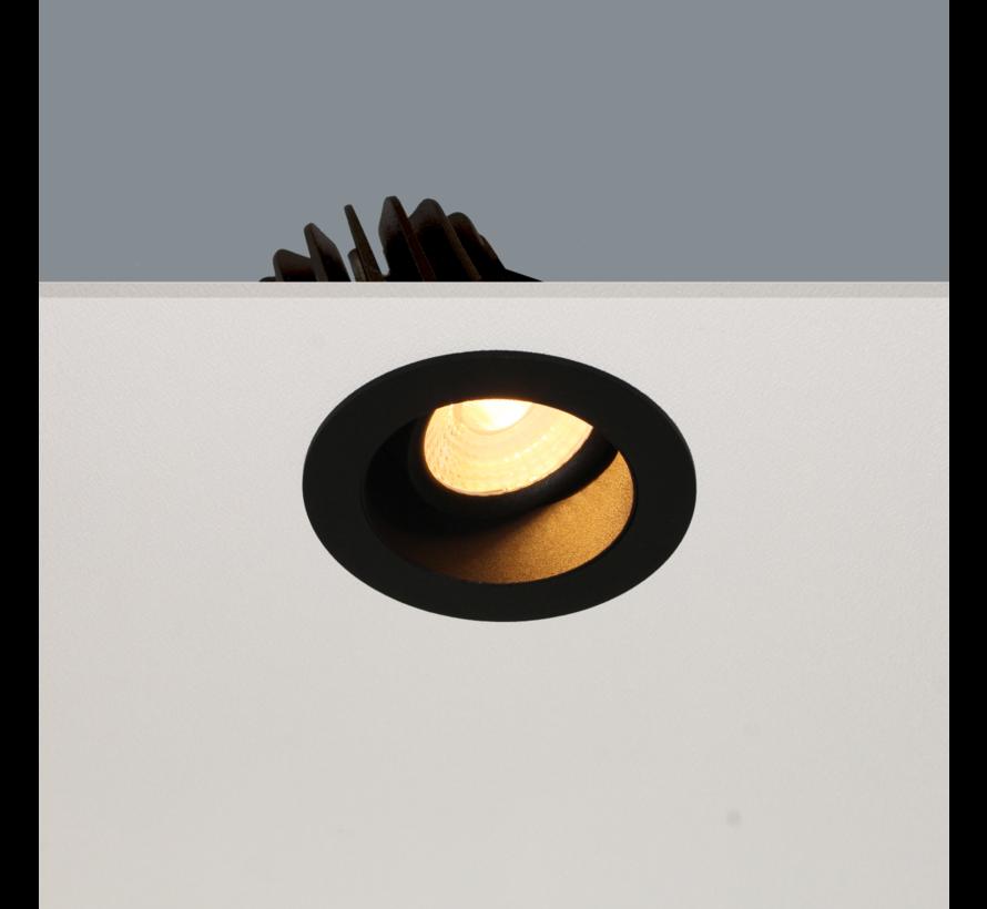 Inbouwspot Venice DL 2408 - Zwart